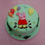 peppa-muddy-puddle-cake