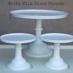 White Milk Glass - Labelled
