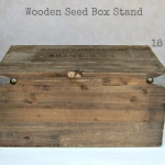 Wooden Seed Box - Labelled