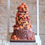 Autumn Naked Cake 4c
