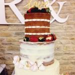 Triple Naked Cake
