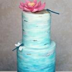 Watercolour Cake 3a