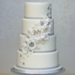 winter-white-vintage-ruffles-wedding-cake