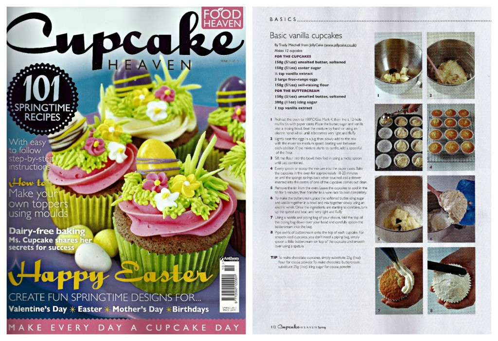 Cupcake Heaven Spring13 Collage