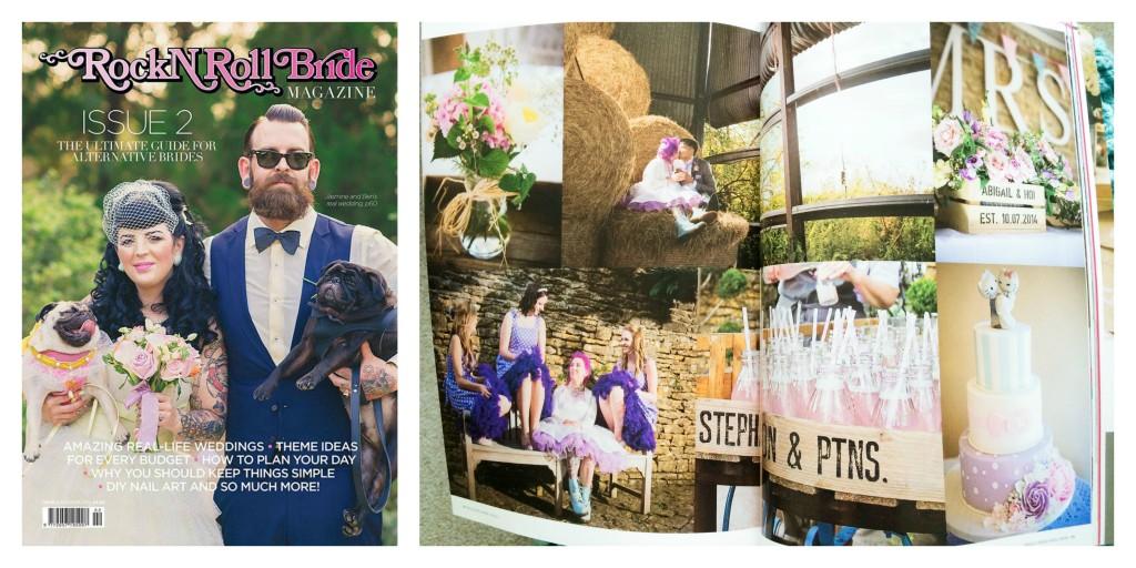 RnR Bride Collage