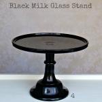 Black Milk Glass - Labelled