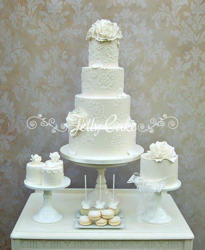Lace Dessert Table 3