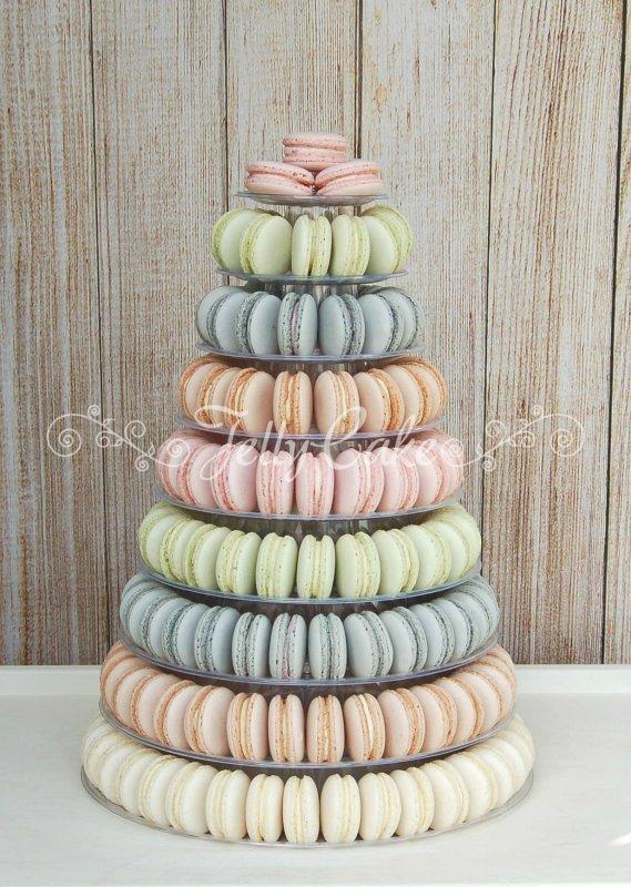 Pastels Macaron Tower 2b