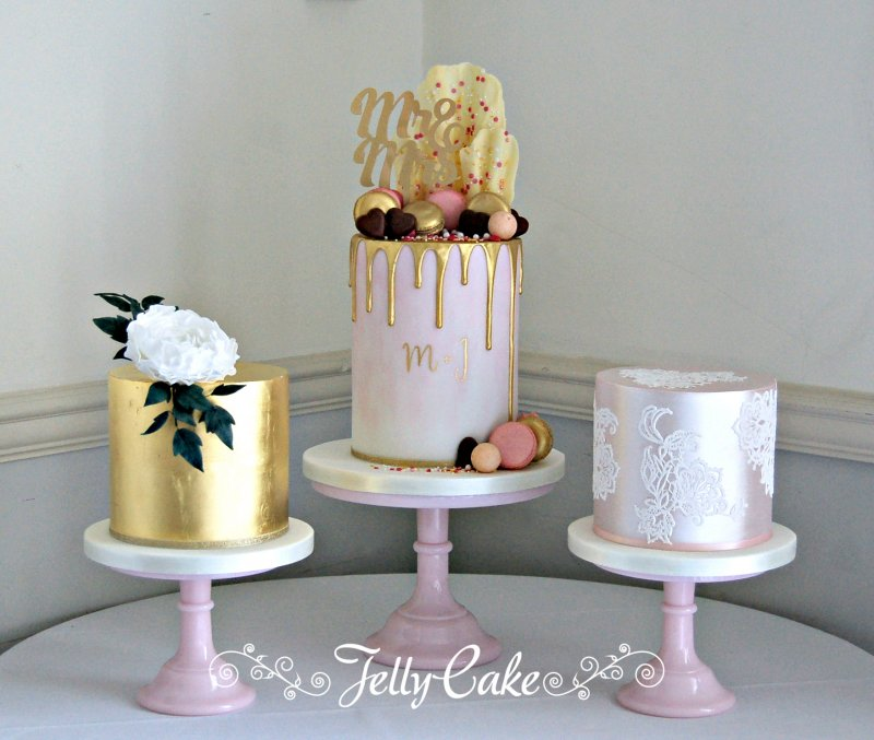 Pink & Gold Cake Table 2 Logo