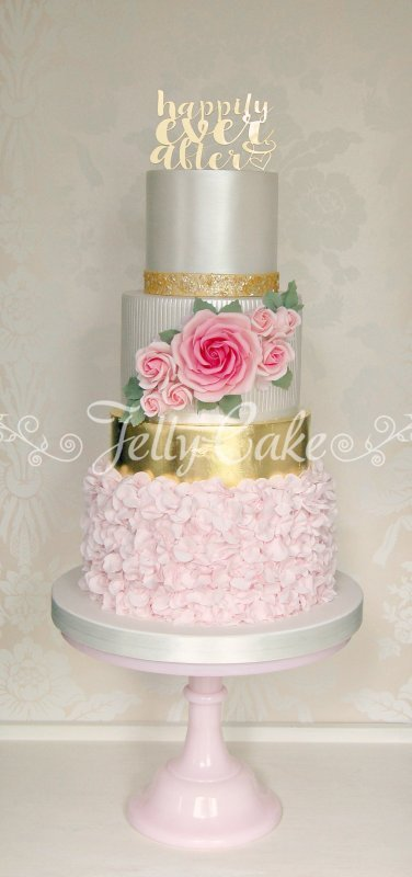 Pink Ruffles and Roses WC 1b