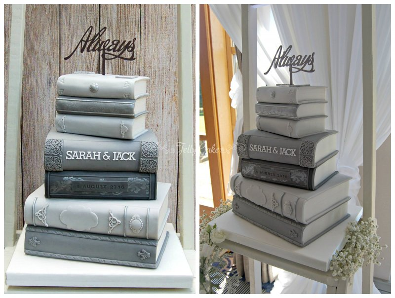 Stack of Books Collage 2
